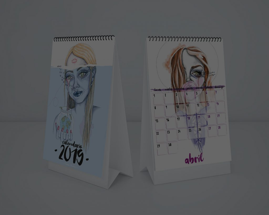 Calendario 2019 staminamandarina Sara Sánchez